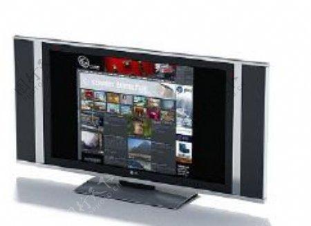 电视机3d模型电器模型图片34