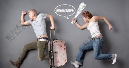 旅行箱banner图片
