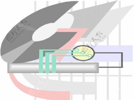 科技电子商业矢量素材模板下载
