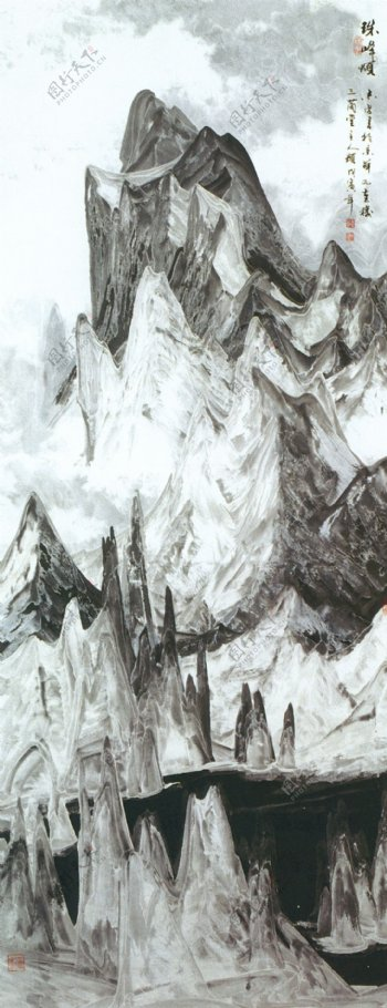 国画山水画