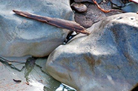 自然界的大石头