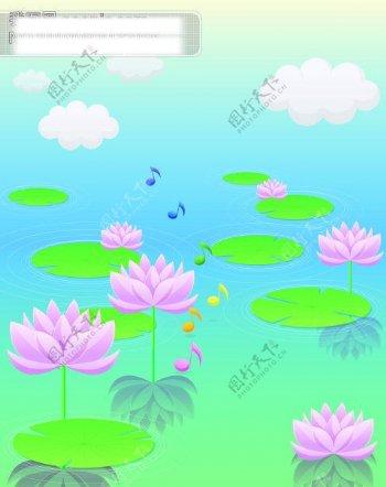 莲花移门图片