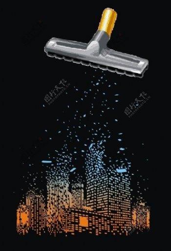 清洁城市图片