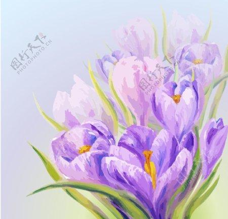 水墨花卉图片