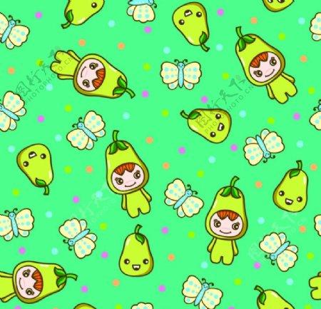 瓜果宝宝图片