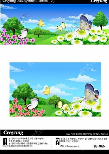 矢量卡通背景插图15图片
