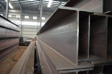 H型钢工字钢槽钢图片