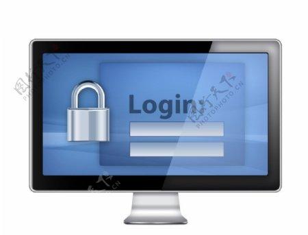 密码保护图标图片