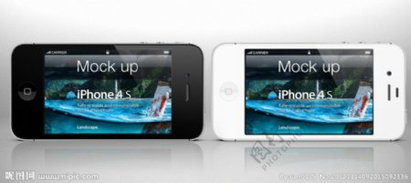iPhone4S黑白图片