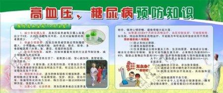 高血压糖尿病预防知识图片