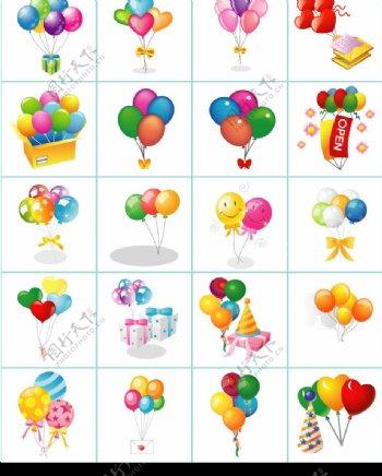 节日气球图片