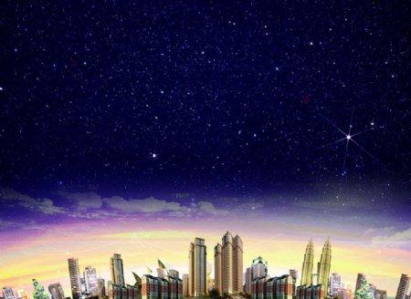 天空城市地产图片