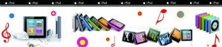 ipod苹果图片