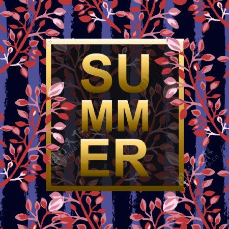 夏日促销海报