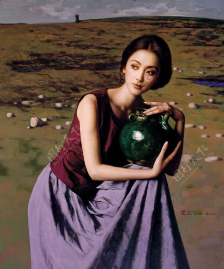 人体艺术油画
