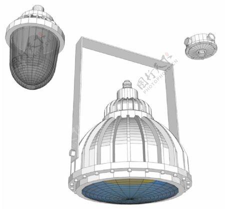 防爆灯模型