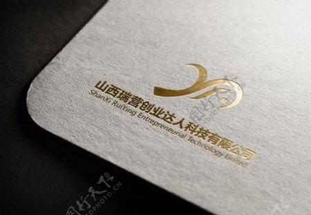 科技公司logo效果图