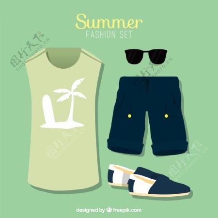夏季服装素材