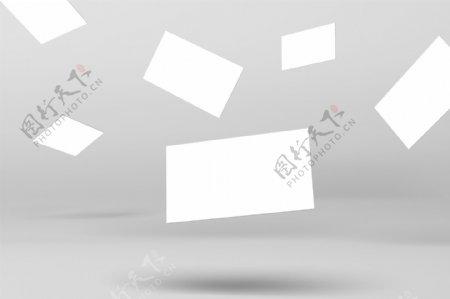 名片设计模版智能贴图样机