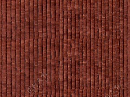 褐色布艺条纹壁纸