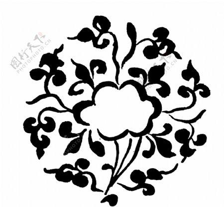 花鸟图案两宋时代图案中国传统图案093