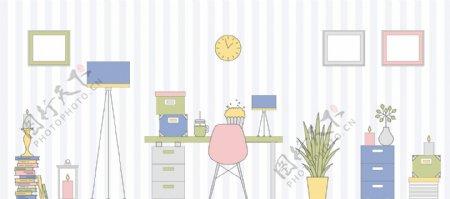 办公室可爱ico图标集合