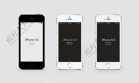 iphone5s三色图片