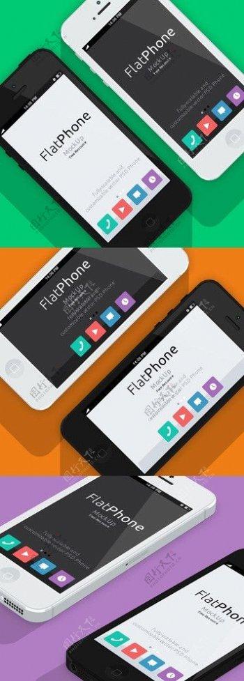 iphone5手机素材图片