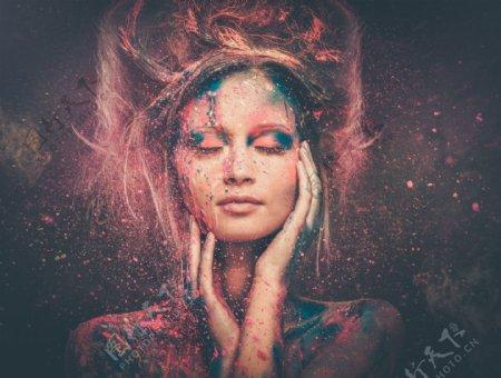 人体艺术美女写真图片