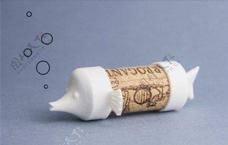 软木小鱼3D打印模型