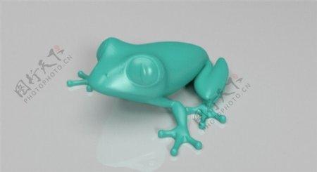 青蛙3D打印模型