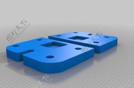 板Ultimaker挤出机升级模块