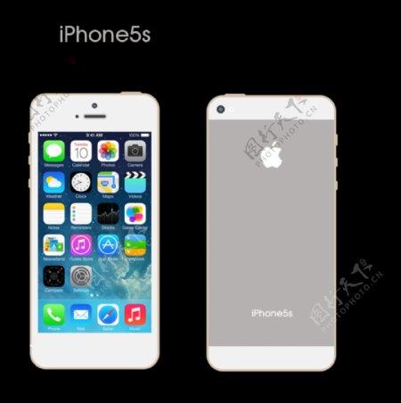 iphone5分层图图片