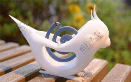 玄凤形蚊香架3D打印模型