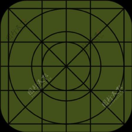 iOS7图标模板