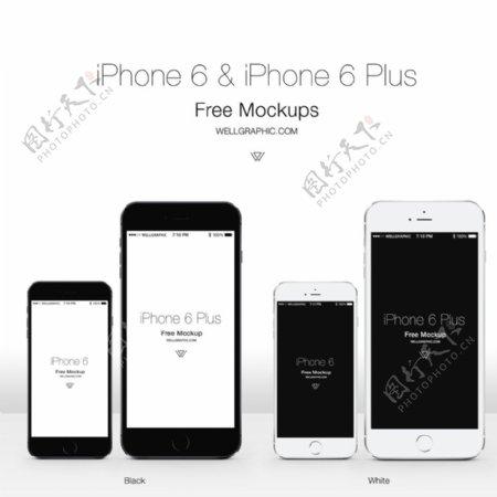 iphone6手机素材图片