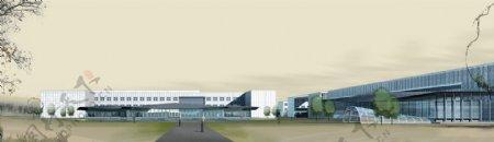 仓储中心环境设计图片