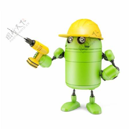 随着Android机器人钻技术的概念