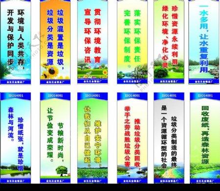 工厂ISO环保标语