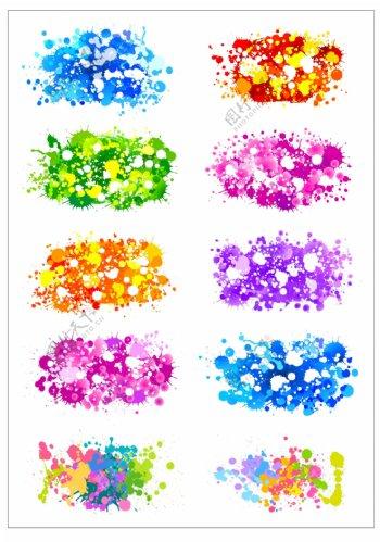 笔刷设计应用背景图案矢量素材AI格式0291