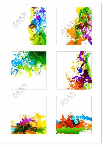 笔刷设计应用背景图案矢量素材AI格式0336