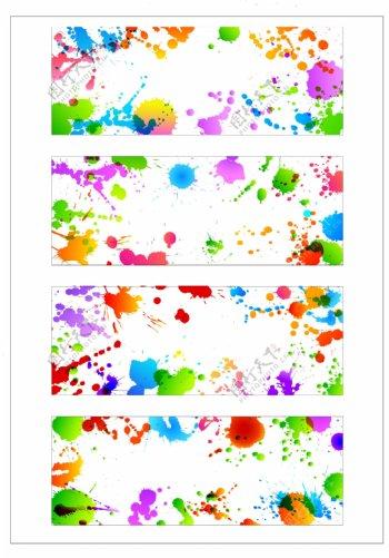 笔刷设计应用背景图案矢量素材AI格式0353
