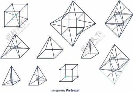 几何图形的矢量