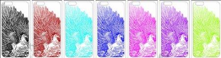 iphone6彩绘手机壳