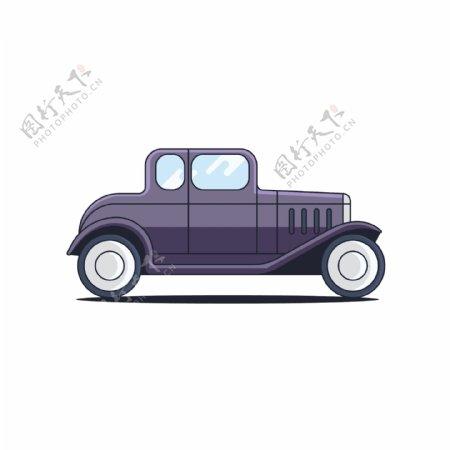 彩色轿车设计素材