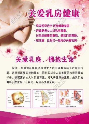 关爱乳房健康