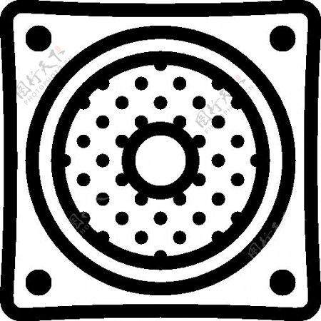 iOS7黑白扁平化风格图标