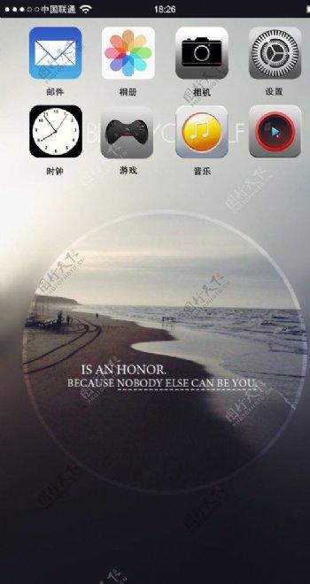 iPhone6界面