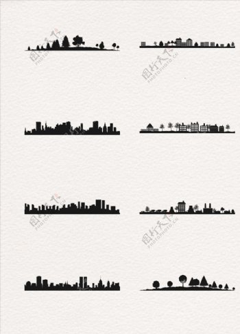 城市建筑背景