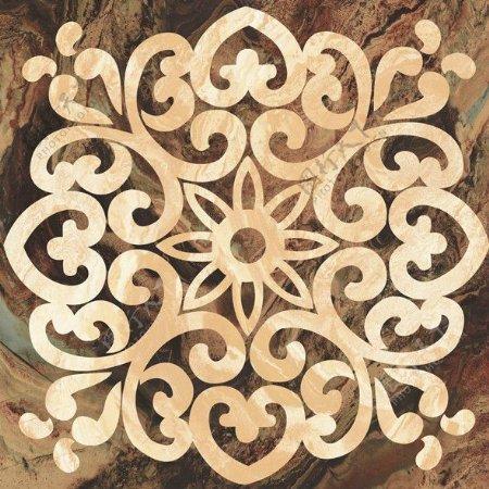 欧式雕花拼花瓷砖贴图